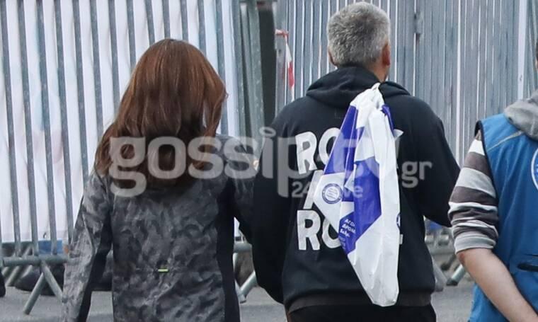 Μπορεί να μην κάνουν δημόσιες εμφανίσεις αλλά έτρεξαν μαζί στον Μαραθώνιο (Photos)