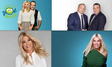 Τηλεθέαση: Ποια πρωινή εκπομπή κατέκτησε το τηλεοπτικό κοινό; (photos)