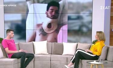 Power of love: Αντώνης Χρόνης: Σοκάρει η εικόνα του μετά το τροχαίο - Του έραψαν λάθος το μάτι