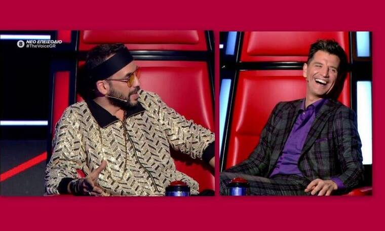 The Voice: Ο Μουζουράκης καραδοκούσε, ο Ρουβάς δεν του έκανε τη χάρη! Τι συνέβη; (Photos-Video)