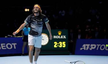 Στέφανος Τσιτσιπάς: Αυτό είναι το αστρονομικό ποσό που θα πάρει μετά τη νίκη του στο ATP Finals