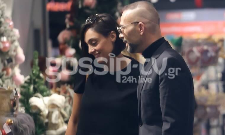 Βαλάντης: Σπάνια δημόσια εμφάνιση με τη σύντροφό του (photos)