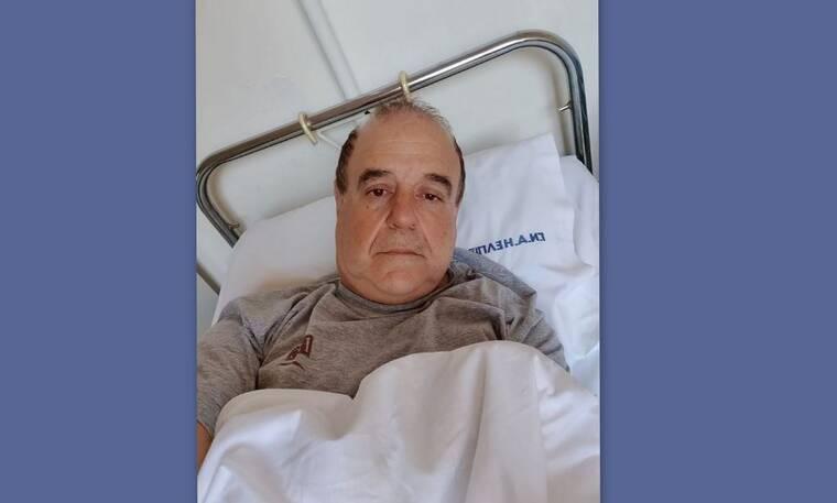 Παύλος Χαϊκάλης: Οι πρώτες δηλώσεις του μετά την εισαγωγή του στο νοσοκομείο