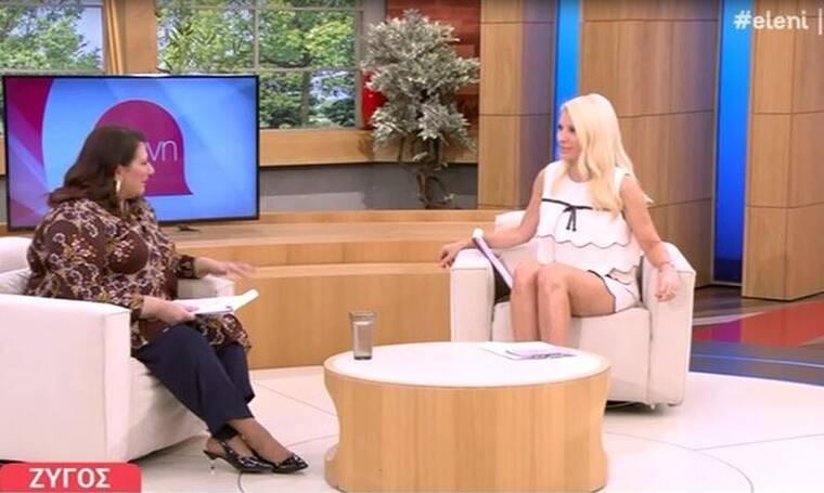 Ελένη Μενεγάκη: Δεν πάει ο νους σας τι ρώτησε την αστρολόγο!