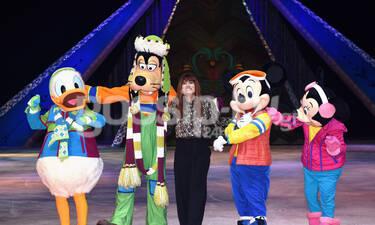 Μαίρη Συνατσάκη: Στο Disney On Ice με τον Μίκυ και την παρέα του (Photos)