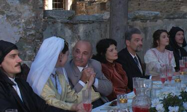 Κόκκινο ποτάμι: Ο γάμος του Θέμη και της Βασιλικής αμαυρώνεται από τους ανθρώπους του Οσμάν (photos)