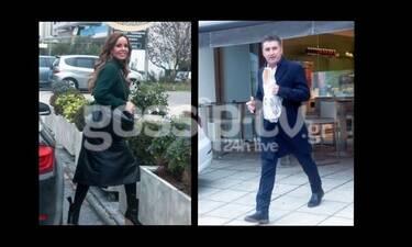 Ζαγοράκης-Λίλη: «Τσακώσαμε» το πιο στιλάτο ζευγάρι στη Θεσσαλονίκη! Ο Θοδωρής με το... ψωμί στο χέρι