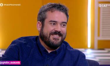 Πυγμαλίων Δαδακαρίδης: Η επιθυμία του να αποκτήσει παιδιά και ο μυστηριώδης τρόπος φλερτ (video)