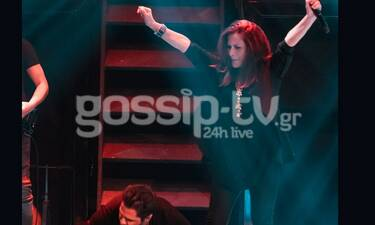 Η Πωλίνα τραγουδούσε Push Ups και ο τραγουδιστής έκανε γυμναστική πάνω στην πίστα! (photos+videos)