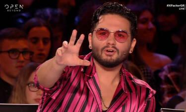 X Factor: Ο Χρήστος Μάστορας έπαθε... Maluma baby – Πώς σου φαίνεται; (photos)
