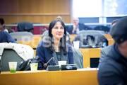Και η Έλενα Κουντουρά βρέθηκε στα έδρανα για να παρακολουθήσει την Ημερίδα για την προσβασιμότητα στον πολιτισμό