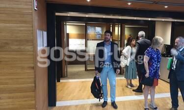 Στις Βρυξέλλες με τον Αλέξη Γεωργούλη (exclusive video- photos)