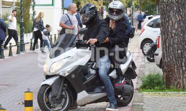 Easy rider η ηθοποιός ροκάρει στην Κηφισιά (photos)