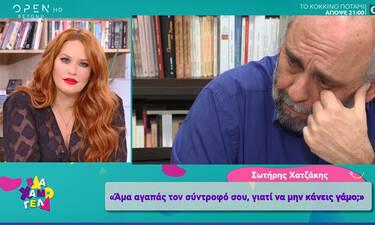 Σωτήρης Χατζάκης: Οι πρώτες δηλώσεις για την Παλαιολόγου και η βαθιά επιθυμία να γίνει μπαμπάς (vid)