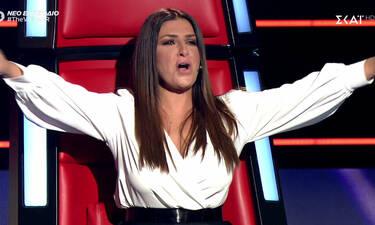 The Voice: Μεράκλωσε η Έλενα Παπαρίζου! Στα καλύτερά της η coach (Video)
