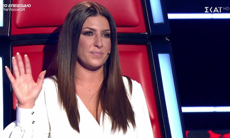 The Voice: Βούρκωσε η Παπαρίζου: «Θέλω να πάω πίσω και να κλάψω» (Pics-Vid)