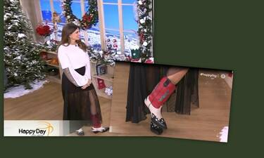 Σταματίνα Τσιμτσιλή: Θα τρελαθείτε με την λεπτομέρεια στην εμφάνισή της – Απίστευτες ατάκες on air!