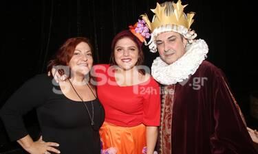 Σταυροπούλου-Χατζηπαναγιώτης-Μπάρκα: Η θεατρική πρεμιέρα ήταν... οικογενειακή υπόθεση! (photos)