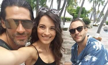 Αυτή είναι η «κόρη» του Σπαλιάρα και μιλάει για τη συνεργασία τους στη Μεξικάνικη σειρά του Netflix