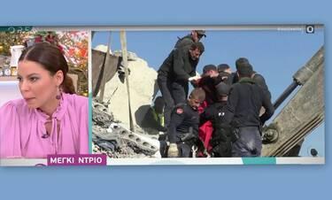 Μέγκι Ντρίο: Λύγισε on air: Σε κώμα η ξαδέλφη της μετά τον σεισμό στην Αλβανία