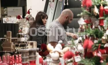 Μιχάλης Κουινέλης - Ήβη Αδάμου: Ξεκίνησαν τις χριστουγεννιάτικες αγορές (Photos)