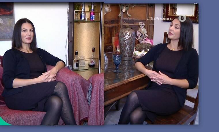 Βερόνικα Αργέντζη: Ντυμένη στα μαύρα μιλά πρώτη φορά μετά τον θάνατο του άντρα της και συγκινεί...