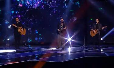 X Factor: Το υπέροχο ντουέτο του Χρήστου Μάστορα με τους παίκτες του (Video)