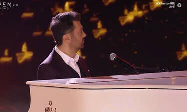Χ Factor: Μια μοναδική μουσική συνύπαρξη με τον Γιώργο  Θεοφάνους στο πιάνο του (Video)