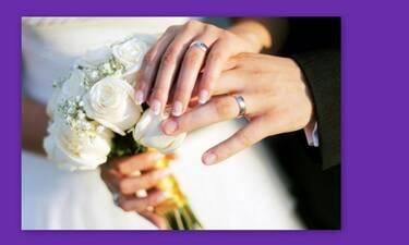 Ζευγάρι της ελληνικής showbiz μόλις παντρεύτηκε και δεν το πήρε χαμπάρι κανείς! (Photos)
