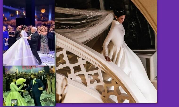 Αυτός είναι ο πιο λαμπερός γάμος στην κοσμική Αθήνα (Photos & Video)