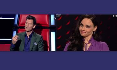 The Voice: Απογοητευμένος ο Σάκης και από τους δυο παίκτες του – Τι συνέβη στη σκηνή του σόου;