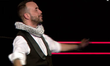 The Voice: Έχεις φανταστεί ποτέ τον Μουζουράκη να χορεύει ζεϊμπέκικο; Ε… να η ευκαιρία (Pics-Vid)