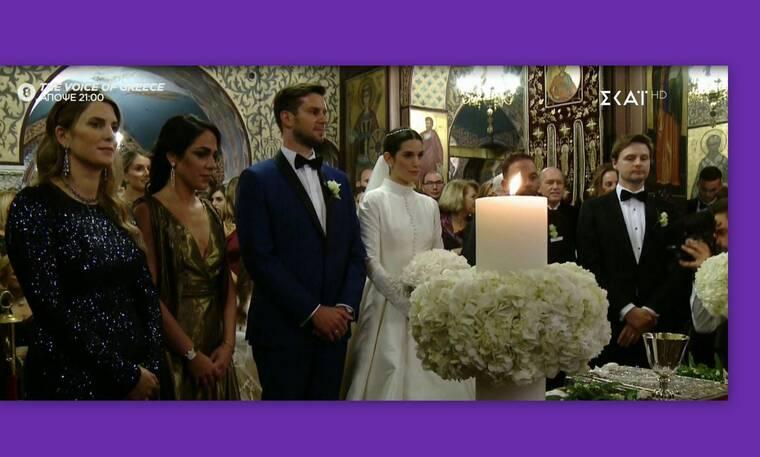 Αναστασία Καίσαρη: Πλάνα από τον λαμπερό γάμο της κόρης του Κώστα Καίσαρη (Video & Photos)