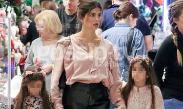 Σταματίνα Τσιμτσιλή: Έτσι όπως δεν την έχεις ξαναδεί  μαζί με τον άντρα και τα παιδιά της (Photos)