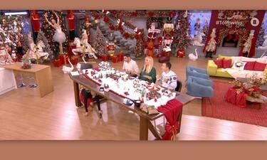 Απίστευτο στιγμιότυπο με την Φαίη Σκορδά! Ήταν κάτω από το τραπέζι και φώναζε- Τι έγινε;
