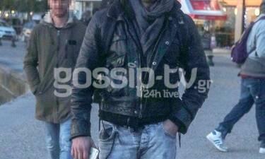 Αποκλειστικό: Καιρό είχαμε να τον δούμε και τον πετύχαμε στη Θεσσαλονίκη (Photos-Video)