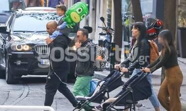 Ησαΐας Ματιάμπα: Δες τον όπως δεν τον έχεις ξαναδεί με τον γιο του και θα... λιώσεις! (Photos)
