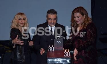 Δέσποινα Μοιραράκη: Γιόρτασε τα 30 χρόνια στην ελληνική τηλεόραση με εκλεκτούς καλεσμένους (Photos)