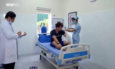 Globetrotters: Το σοκαριστικό ατύχημα του Παντελή τον οδήγησε στο νοσοκομείο (Video)
