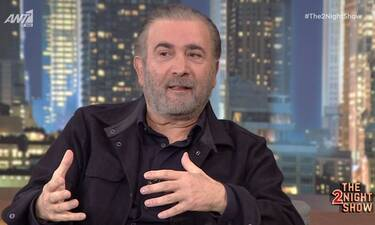 The 2Night Show: Συγκλονίζει ο Λαζόπουλος: Ο θάνατος της γυναίκας του και η μάχη της με τον καρκίνο