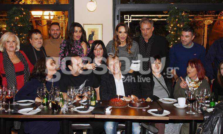 Λίγο πριν τη θεατρική πρεμιέρα, γενέθλια με αγαπημένους συνεργάτες! (photos)