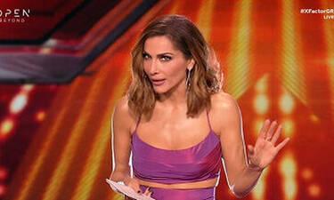 X Factor: Η ανακοίνωση της Δέσποινας Βανδή για τον ημιτελικό και τον τελικό! (video+photos)