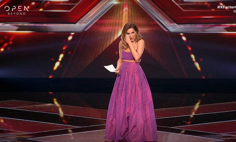 X Factor: Η συγκίνηση της Βανδή, η λαμπερή εμφάνιση και η αναφορά στη Ρούλα Κορομηλά! (video+pics)