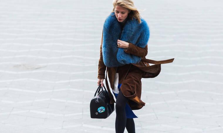 Τρία styling tips για να φαίνεσαι πιο λεπτή φορώντας το παλτό σου
