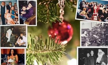 Τα πιο λαμπερά Χριστούγεννα της ελληνικής σόουμπιζ μέσα από σπάνιες ρετρό φωτογραφίες! (photos)