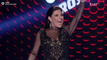 The Voice: Θα ξετρελαθείς με τη σέξι εμφάνιση της Έλενας Παπαρίζου (Photos-Video)