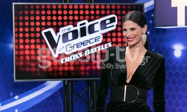 The Voice: Η Χριστίνα Μπόμπα στο gossip-tv.gr: Με αυτόν μίλησε λίγα λεπτά πριν το 1ο live! (Vid)