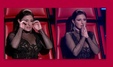 The Voice: Λύγισε η Έλενα Παπαρίζου! Έβαλε τα κλάματα on air - Τι συνέβη; (Photos-Video)