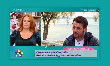 Γιώργος Αγγελόπουλος: Το σωματείο για παιδιά, ο έρωτας και η παραδοχή: «Η μαμά μου ζητάει εγγονάκι»!