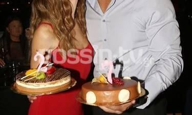 Γιόρτασε τα γενέθλιά της και δεν έσβησε τα κεράκια σε μία, αλλά σε δύο τούρτες! (Photos)